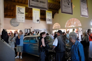 Opening Day of the Burlingame/Hillsborough Train Station Museum