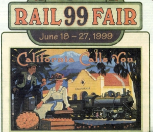 """""""Rail Fair"""" advertisement"""