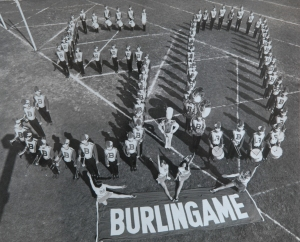 Burlingame High School celebrates its 50th anniversary in 1973.