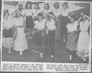 Undated Spanish fest at McKinley