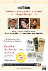 Burlingame-Real-Estate-Stories-OCT-2015 Revised Poster